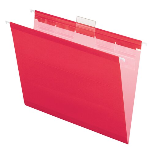 Pendaflex® Ready-Tab Colored Reinforced Hanging File Folders,20/Box