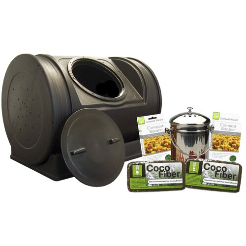 Good Ideas Compost Wizard 7 Cu. Ft. Starter Kit