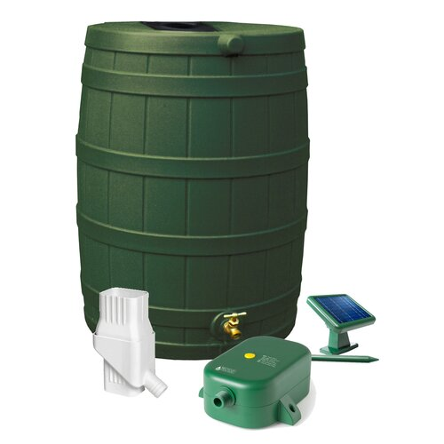Good Ideas Rain Wizard 50 Gallon Rain Barrel Set