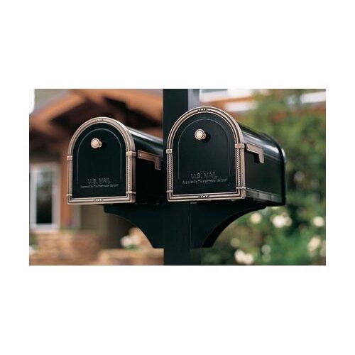 Decorative Side Bracket for 1 Mailbox