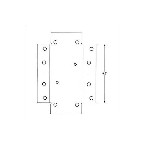 Architectural Mailboxes Universal Adapter Plate for Bellevue / Coronado