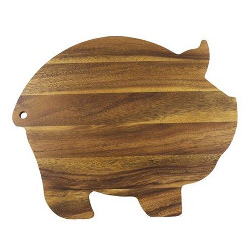 Ironwood Gourmet Pig Shaped Cutting Board