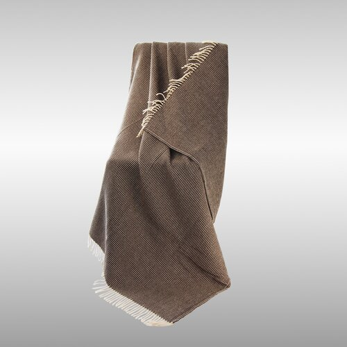 North Home Favo Portugal Lambswool Throw