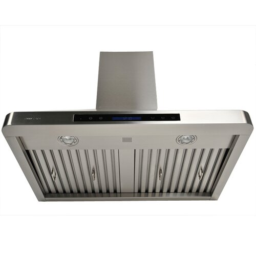 "Cavaliere 30"" 280 - 900 CFM Stainless Steel Wall Mount Range Hood with Adjustable Airflow"