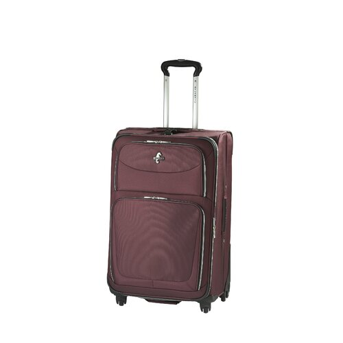 "Atlantic Luggage Compass 2 25"" Expandable Suiter Spinner Upright"