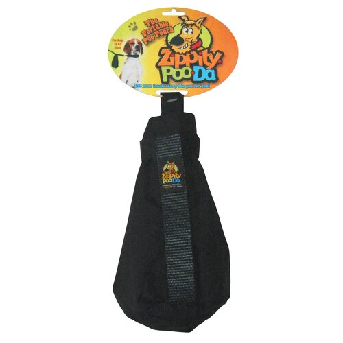 Zippity Poo-Da Leash with Poop Bag Holder and Pouch