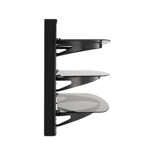 Sanus Wall Mounted Furniture with Three Shelves