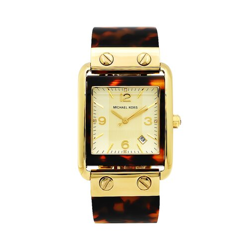 Michael Kors Women's Tortoise Bangle Watch