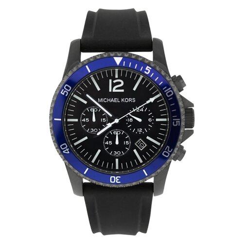 Michael Kors Men's Jet Set Watch with Blue Chronograph Dial