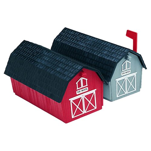 Flambeau Barn Style Post Mounted Mailbox