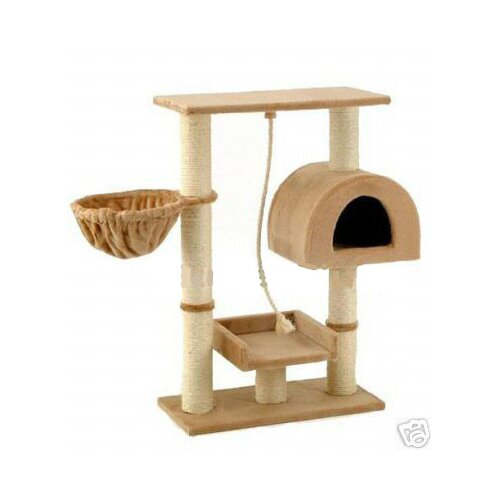 "Go Pet Club 36"" Cat Tree in Beige"