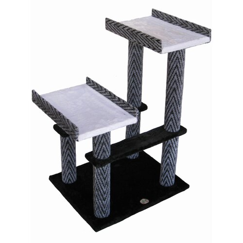 "Go Pet Club 32"" Cat Tree in Black"