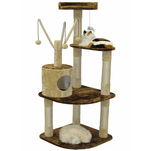 "Go Pet Club 60"" Climber Cat Tree"
