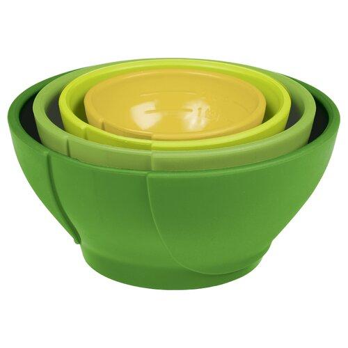 Chef'N Vibe 4 Piece Prep Bowl Set