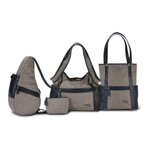 AmeriBag Gabardine Hobo Bag