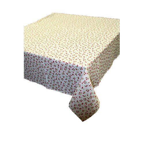 European Retro Cherry Vintage Oblong / Rectangle Tablecloth