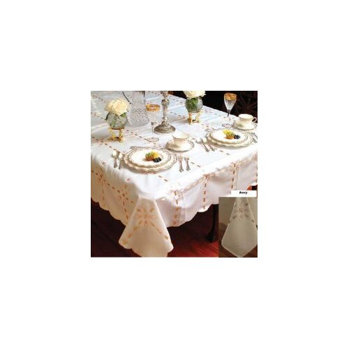Crown Tablecloth with Ribbon