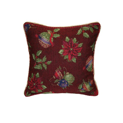 Seasonal Jingle Bells Throw Pillow