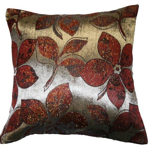 Signature Jacquard Lily Throw Pillow