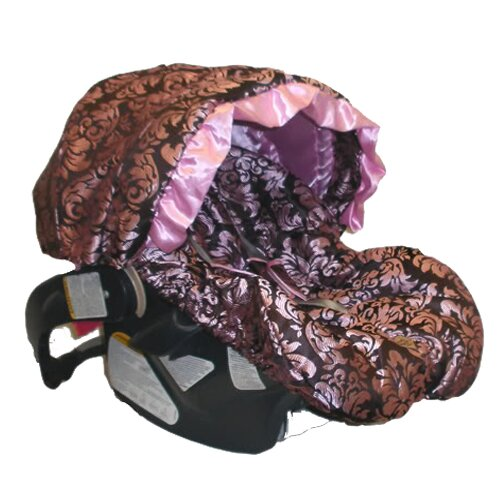 Pink Champagne Infant Carseat Cover