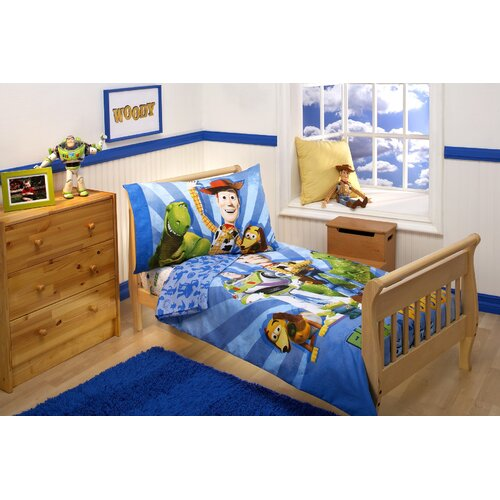 story twin bedding set toy