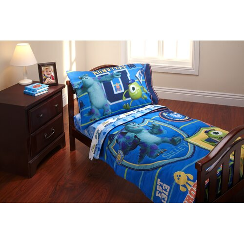 Disney Baby Bedding Monsters University 4 Piece Toddler Bedding Set