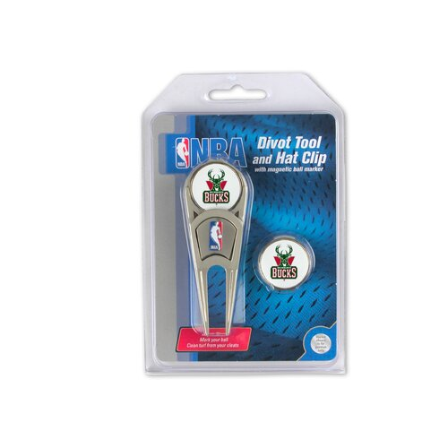 McArthur Towels NBA Golf Divot Tool and Hat Clip Combo