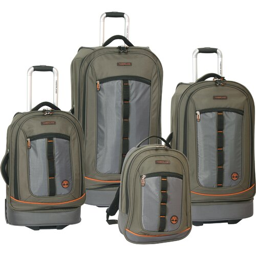 Timberland Jay Peak 4 Piece Luggage Set