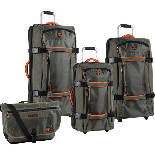Twin Mountain 4 Piece Luggage Set