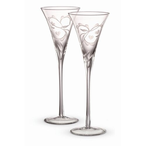 Yours Truly Champagne Flute (Set of 2)