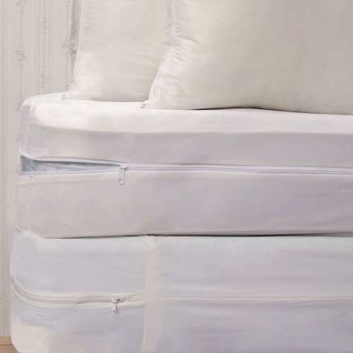 Royal Heritage Home Bed Bug Protective Basic Bedding Set