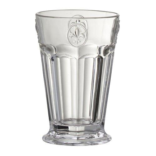 Fleur De Lis Hiball Glass in Remailer (Set of 6)