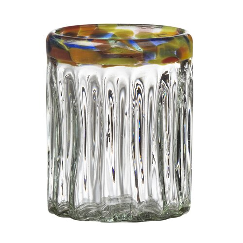 Festival Optic Double Old Fashion Glass in Remailer (Set of 4)