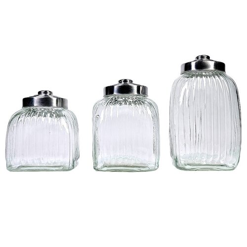 Global Amici Square Glass Canister