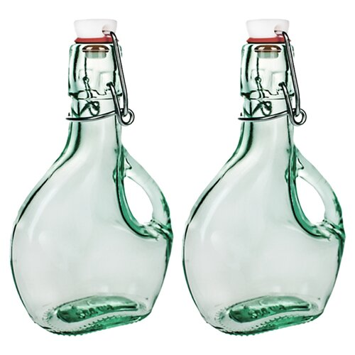 Flask Basquiase Bottle (Set of 2)