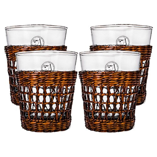 Bali Double Old Fashioned Glass (Set of 4)