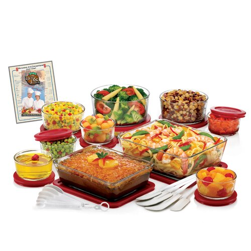 32 Piece Storage Bowl Set