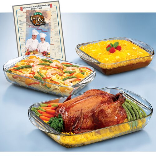Anchor Hocking Expressions 4 Piece Ovenware Set