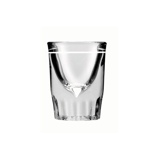 Line Whiskey Shot Glass in Clear (Set of 48)