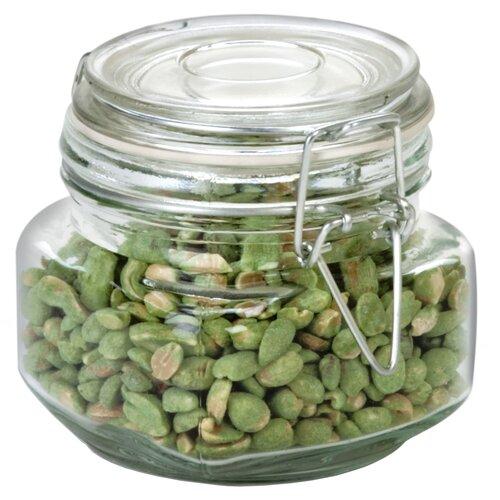 Anchor Hocking Heremes Clamp Jar