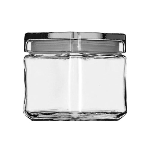 Anchor Hocking Stackable Square Jar