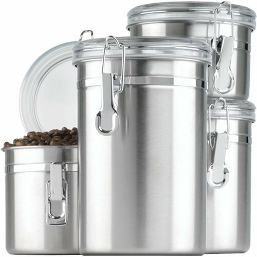 Anchor Hocking 4 Piece Canister Set