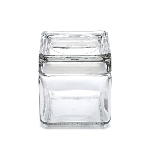 Anchor Hocking Stackable Square Jar with Lid