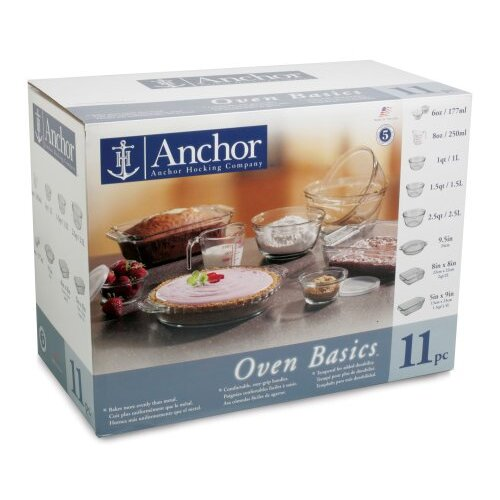 Anchor Hocking 11 Piece Bakeware Set