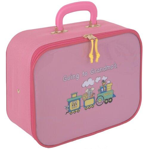 Mercury Luggage Going to Grandma's Children's Suitcase