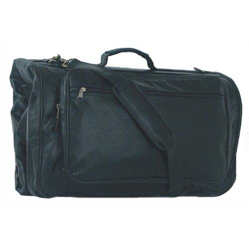 Mercury Luggage Highland II Series Tri-Fold Black Garment Bag