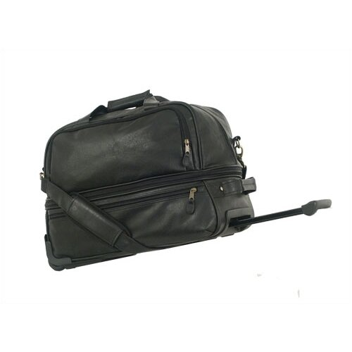 "Mercury Luggage Highland II Series 18.5"" 2-Wheeled Expandable Gym Duffel"