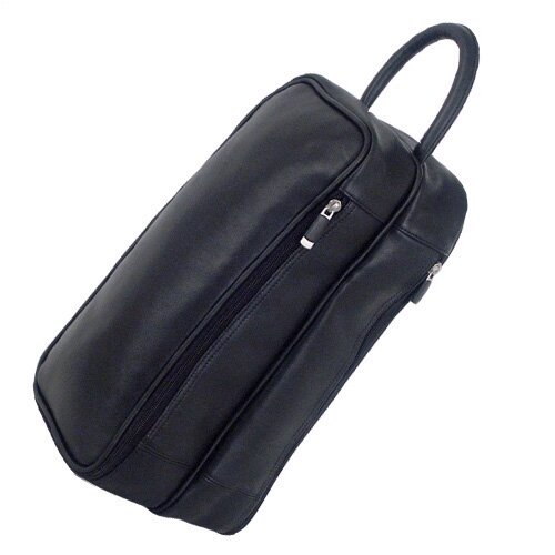 Sondrio Leather Shoe Bag