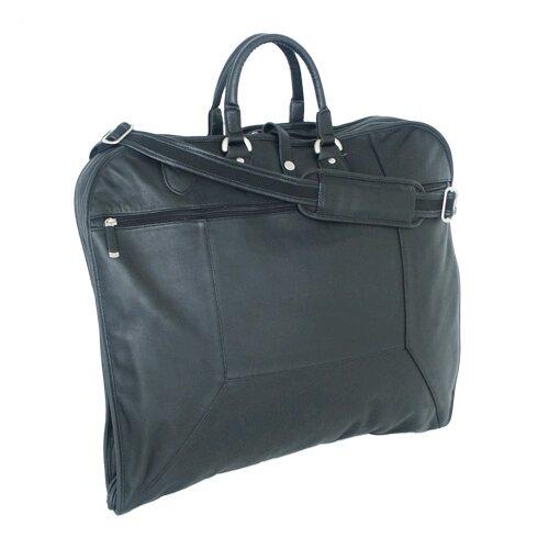 Sondrio Leather Garment Bag