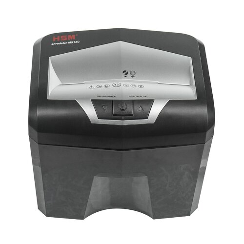 HSM of America,LLC Shredstar MS12c 12 Sheet Cross-Cut Shredder